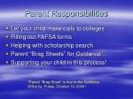 parent responsibilities
