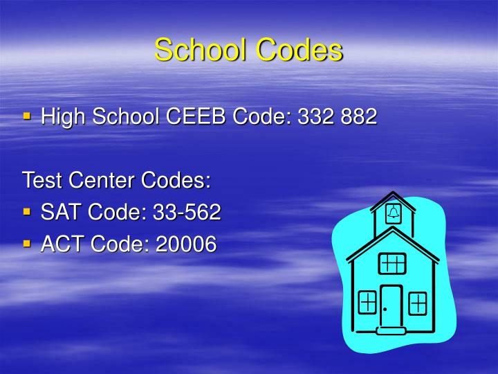 School Codes