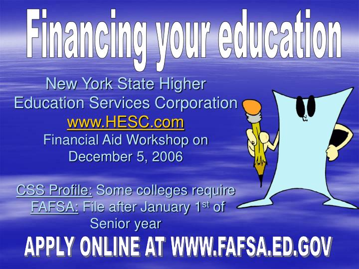 New York State Higher Education Services Corporation