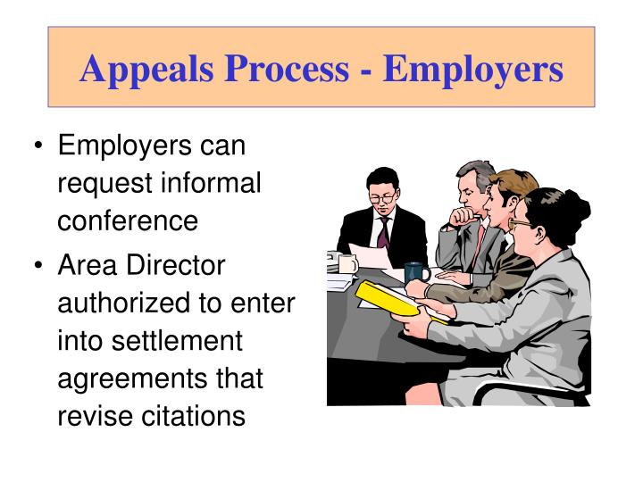 Appeals Process - Employers