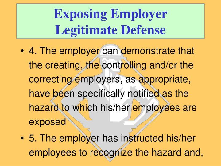 Exposing Employer