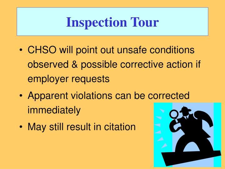 Inspection Tour