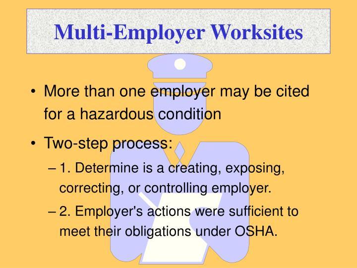 Multi-Employer Worksites