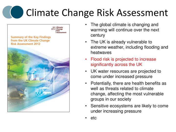 Climate Change Risk Assessment