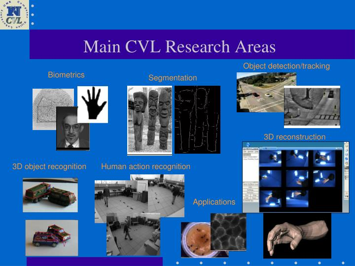 Main cvl research areas