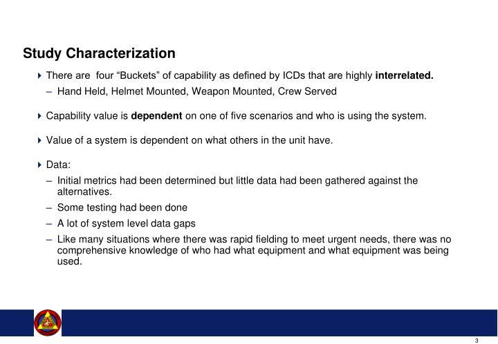 Study Characterization