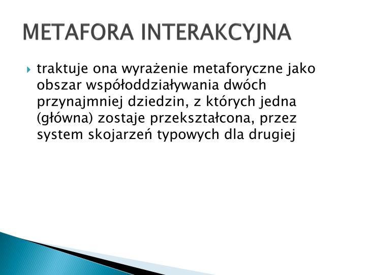 METAFORA INTERAKCYJNA