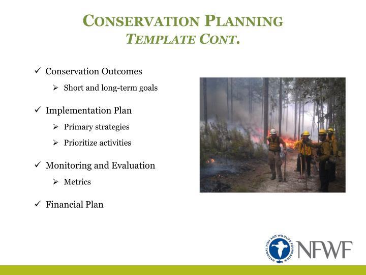 Conservation Planning