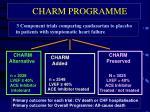charm programme