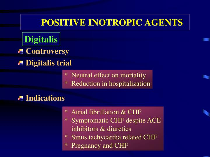 POSITIVE INOTROPIC AGENTS