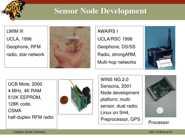 Sensor Node Development