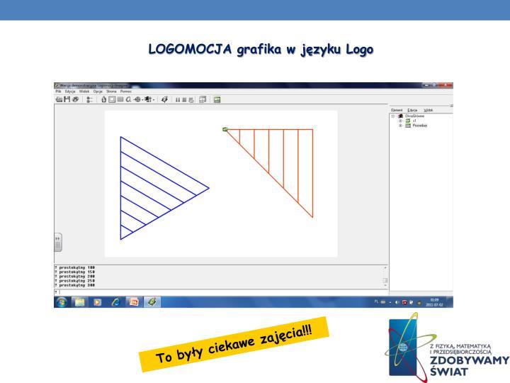 LOGOMOCJA grafika w języku Logo