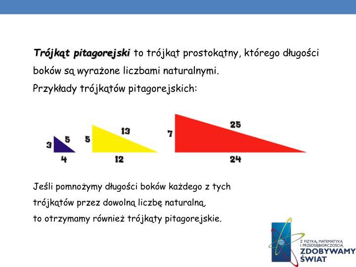 Trójkąt pitagorejski