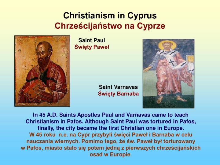 Christianism in Cyprus