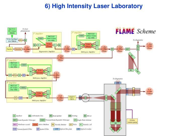 6) High Intensity Laser Laboratory