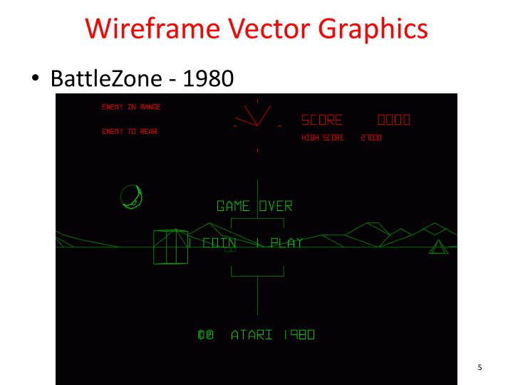 Wireframe Vector Graphics