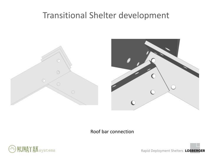 Transitional Shelter development
