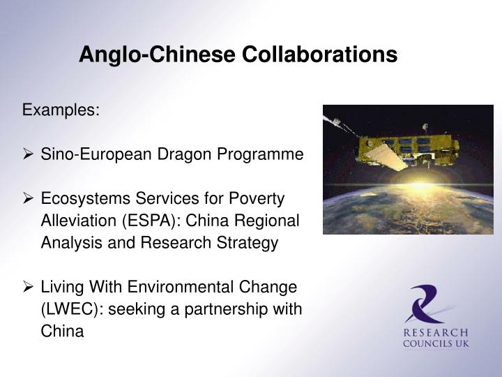 Anglo-Chinese Collaborations