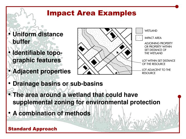 Impact Area Examples