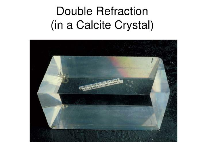 Double Refraction
