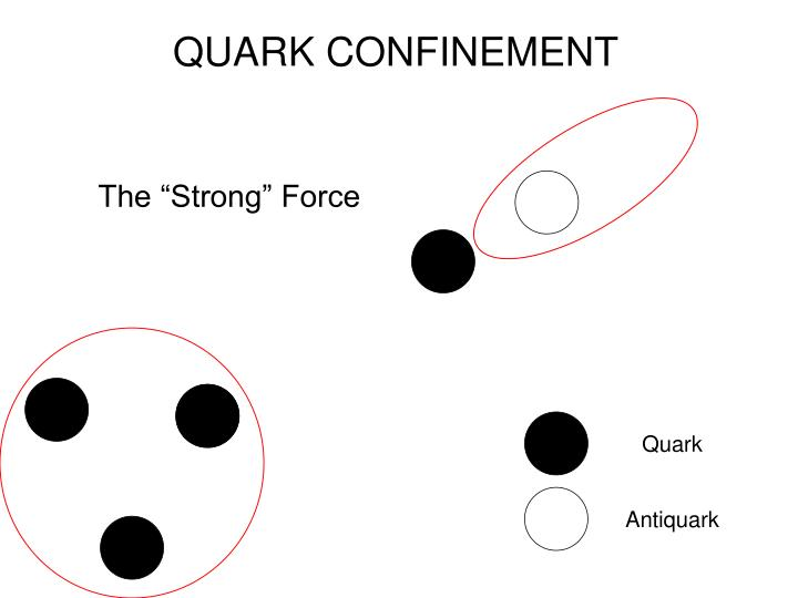 QUARK CONFINEMENT
