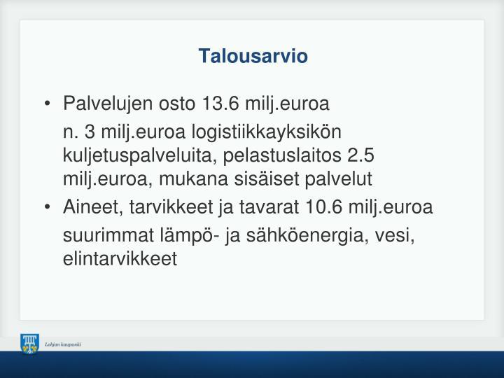 Talousarvio