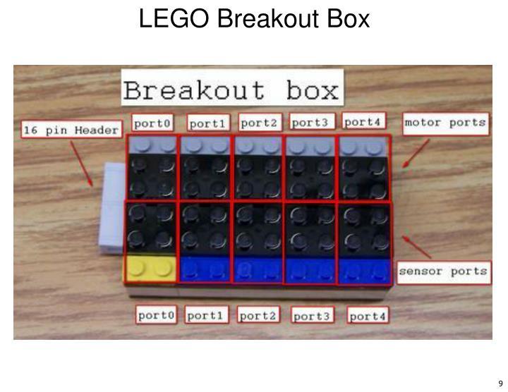 LEGO Breakout Box