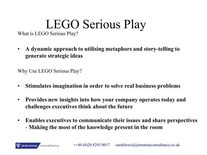 LEGO Serious Play