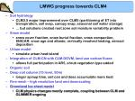 lmwg progress towards clm48