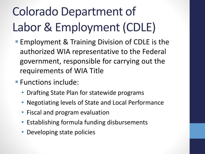 Colorado Department of