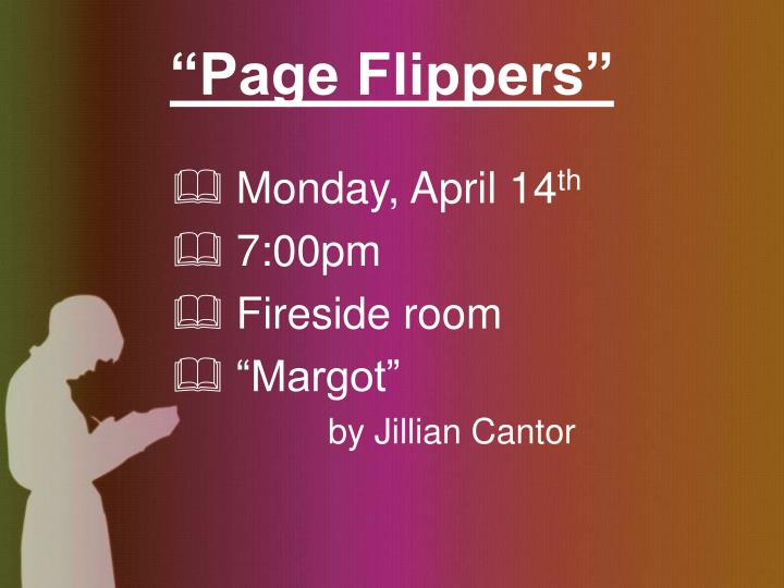 """""""Page Flippers"""""""