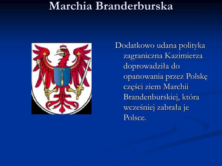 Marchia Branderburska
