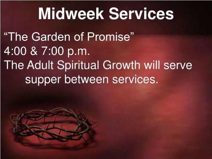 Midweek Services