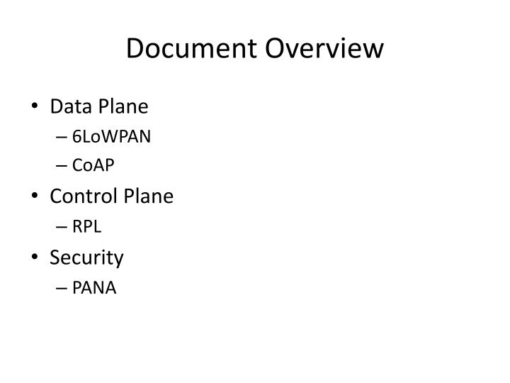 Document Overview