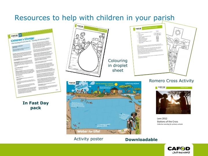 Resources to help with children in your parish