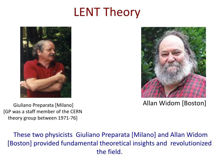LENT Theory