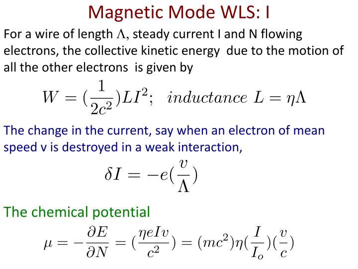 Magnetic Mode WLS: I