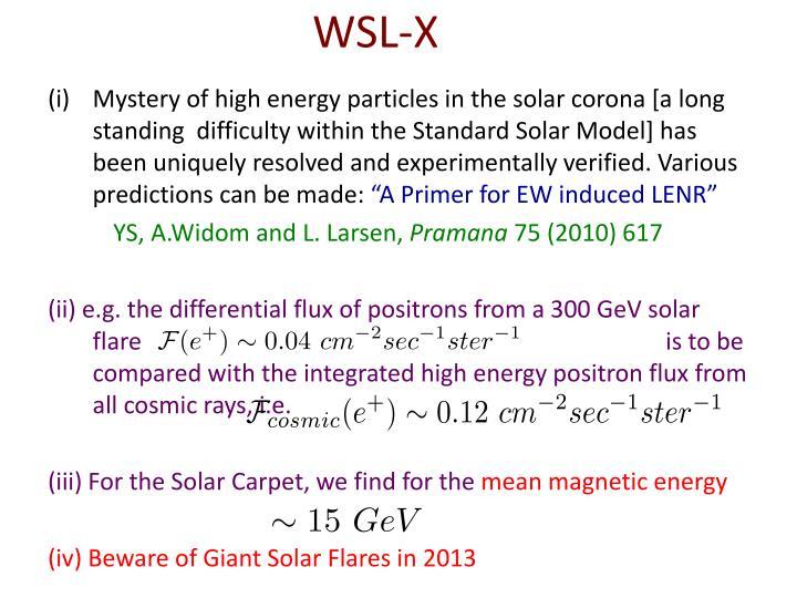 WSL-X