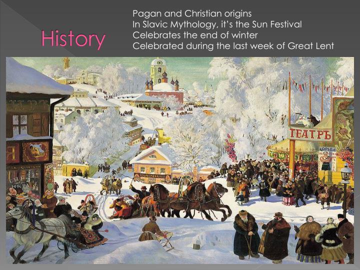 Pagan and Christian origins
