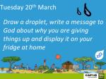 tuesday 20 th march