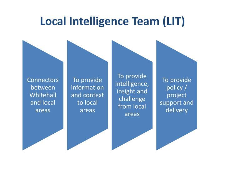 Local Intelligence Team (LIT)