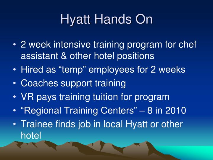 Hyatt Hands On