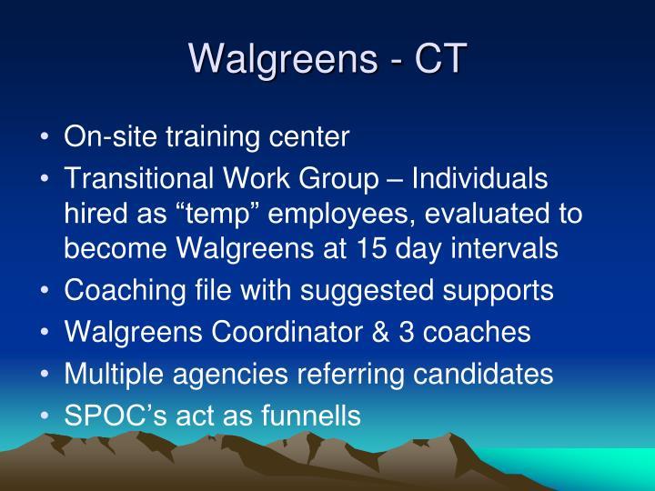 Walgreens - CT