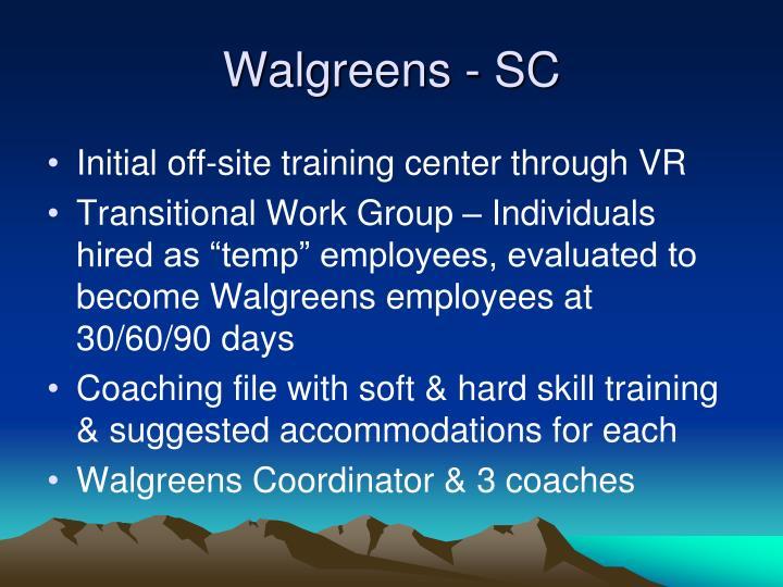 Walgreens - SC