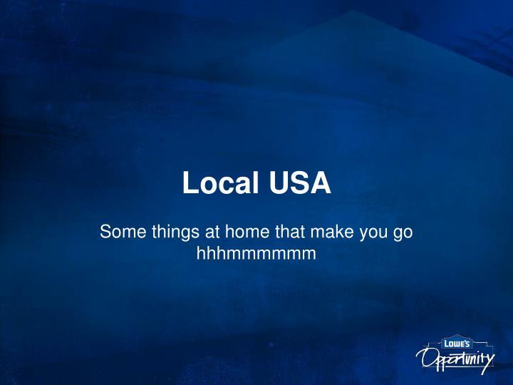 Local USA