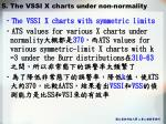 5 the vssi x charts under non normality