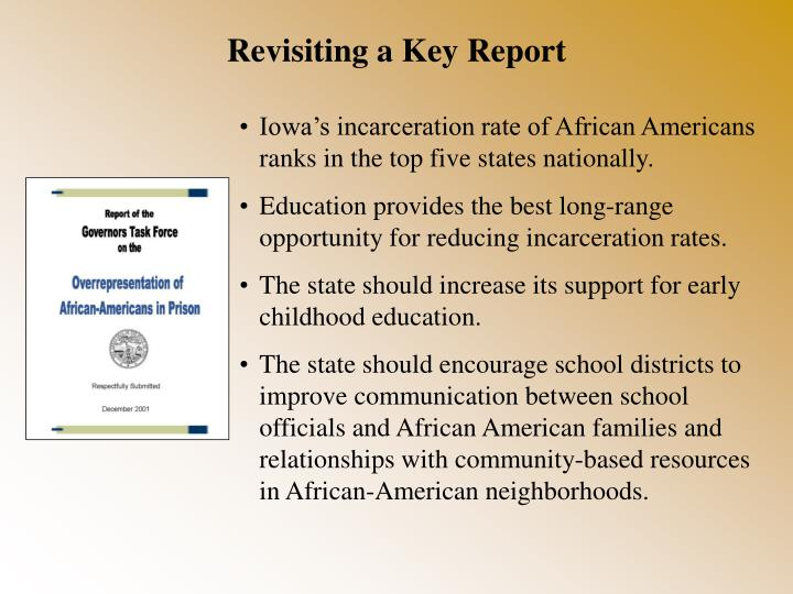 Revisiting a Key Report