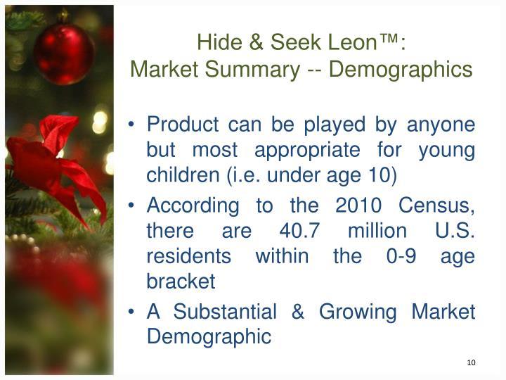 Hide & Seek Leon™: