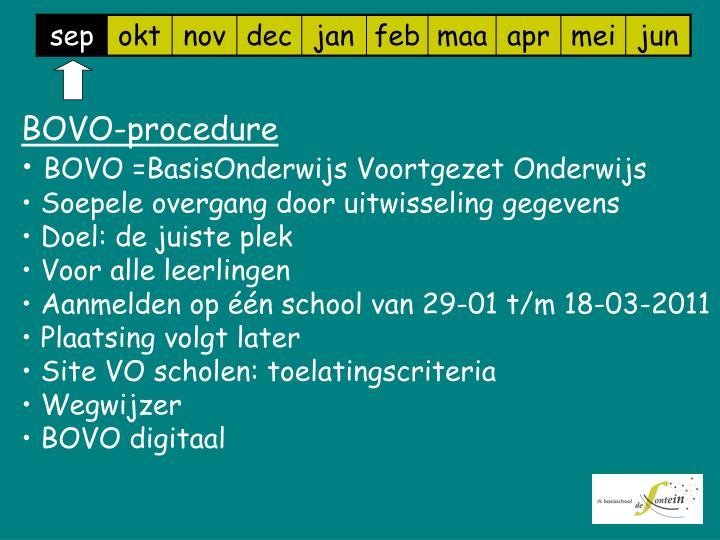 BOVO-procedure