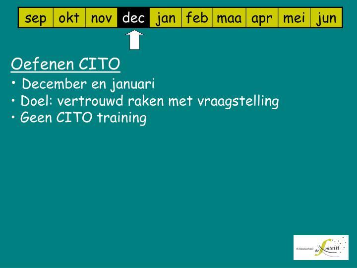 Oefenen CITO